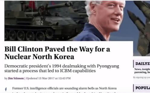 Image result for Democratic president's 1994 dealmaking with Pyongyang started a process that led to ICBM capabilities
