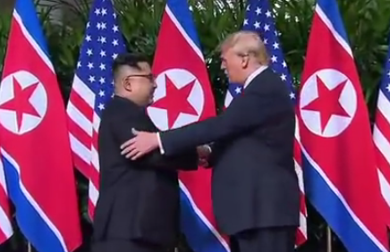 Trump Press Conference Reveals Intentions for Peace after Summit with Kim