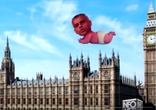 London Mayor Sadiq Khan to Allow 'Baby Trump' Blimp to Fly at Parliament, Will He Agree to 'Baby Khan' Blimp?