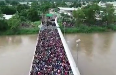 The Caravan of Invaders on the Move from Central America Is Growing Whhile Politicians Use Them to Bolster Their Base