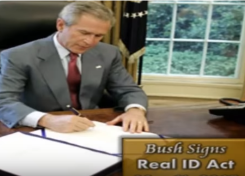 Is Vote Fraud Encouraged by Governments Because the Resulting Crisis Can be Used to Justify Real ID Cards?