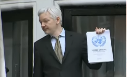 Justice Department Hits Julian Assange with 17 Espionage-Act Charges