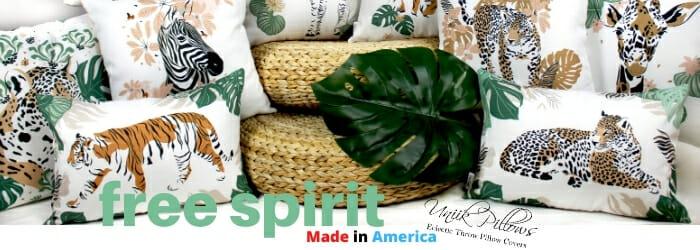 UniikPillows - Free Spirit - Made in America