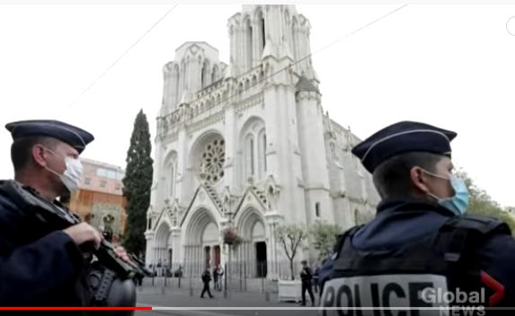 Nice, France: Muslim Man Stabs 3 Worshipers and Decapitates a Woman at Notre Dame Cathedral