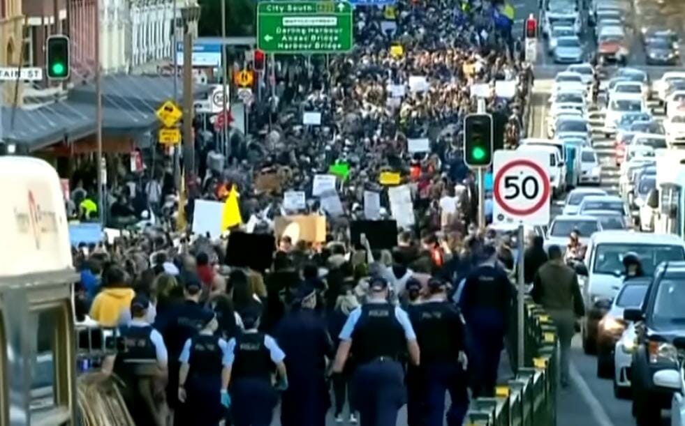 Australian Leaders Blast Pro-Freedom Protesters as 'Filthy, Disgusting and Selfish'
