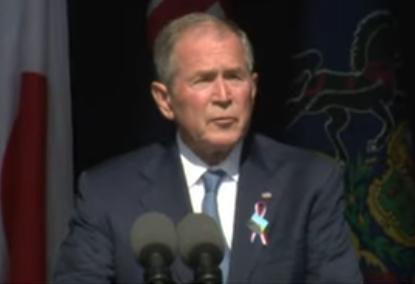 George W. Bush Joins Joe Biden in War against 'Domestic Extremists'